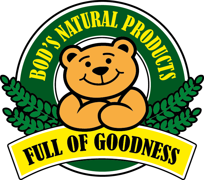 Bod's Natural Products Logo
